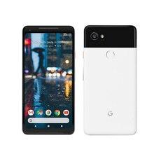 Американская версия Google Pixel 2 XL 4G LTE мобильный телефон 6,0 «4 Гб ОЗУ 64 Гб/128 Гб ПЗУ Восьмиядерный Snapdragon 835 Android 8,0 отпечаток пальца