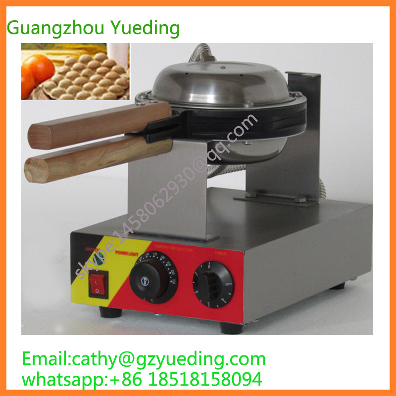 Hot sell commercial egg waffle machine/HongKong egg waffle maker/egg waffle maker manufacturer digital and commercial double head waffle maker rectangle waffle machine
