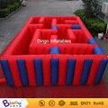 O Envio gratuito de brinquedos ao ar livre 4 M nylon Oxford obstáculos infláveis jogos de labirinto para crianças
