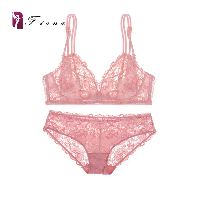 1b5c933d788ca Exclusive style sexy lace bra briefs set sexy woman lolita girl bra sets  lace woman underwear ultra thin bra two colors SW1088