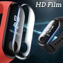 5 шт. ультратонкая прозрачная защитная пленка на весь экран HD для xiaomi mi band 3 mi band 3 Smart Watch прозрачная защитная пленка для экрана