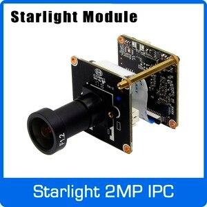 Image 1 - Cámara IP Starlight 1080P H265 Módulo de placa de uso SONY IMX307 Sensor y HI3516EV100 con lente F1.2 4mm envío gratis