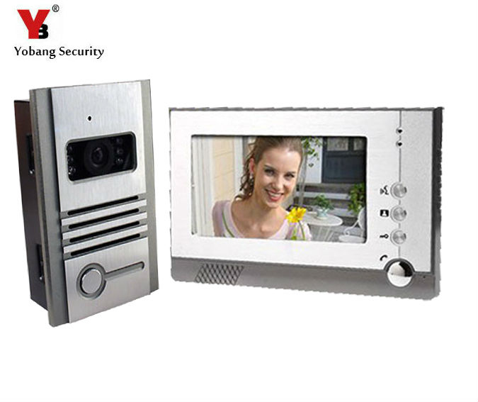 Yobang Security TFT Color LCD Video Intercom Door Phone System Night Vision Visual Doorbell Hands Free Monitor Intercom Doorbell издательство аст советская кулинарная энциклопедия вкусно как в кино