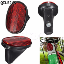 QILEJVS Red Bicycle Bike Rear Fender Safety Warnning Reflector Tail MudGuard Cycling New Warning Light