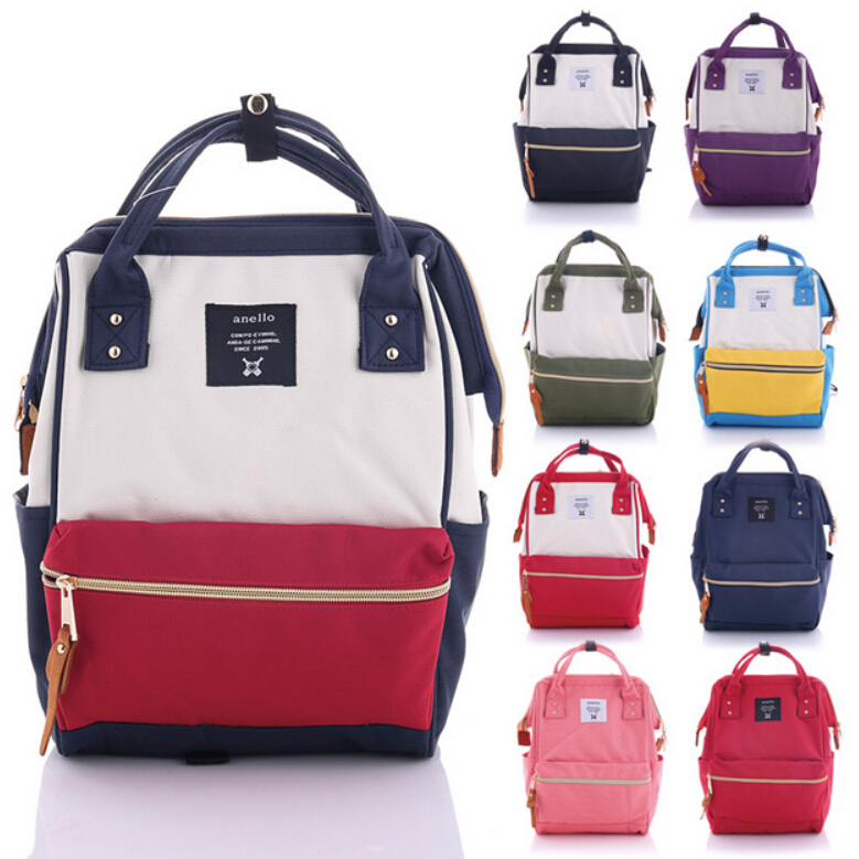 Cheap school bags for college - Canvas Backpack Famous Brand Bag Preppy Style Teenager School Bags