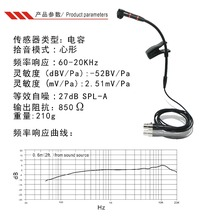microphone for Saxophone with power supply , violin, erhu, flute, gourd and so on  4 kinds of plugs for choose