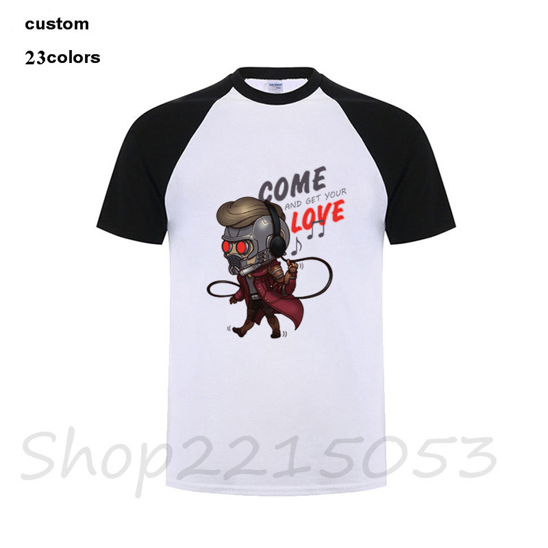 2018 hip hop Star Lord Music Mens T-Shirt costume logo black call me by your name rock guitar game t shirts pokemon go plus club