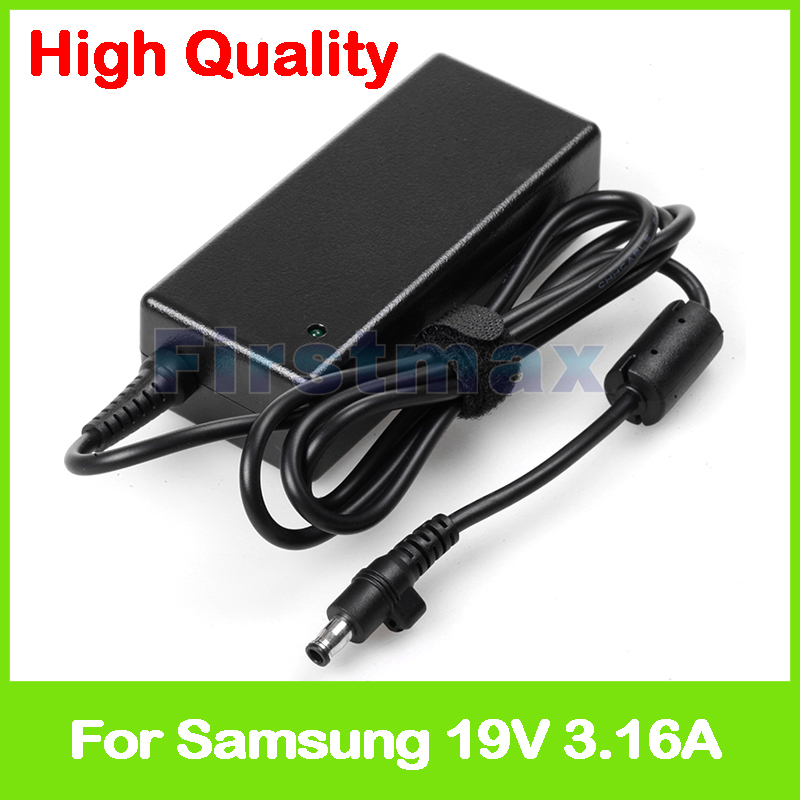 19V 3.16A AC power adapter for Samsung charger RV408 RV409 RV410 RV411 RV413 RV415 RV419 RV420 RV440 charger
