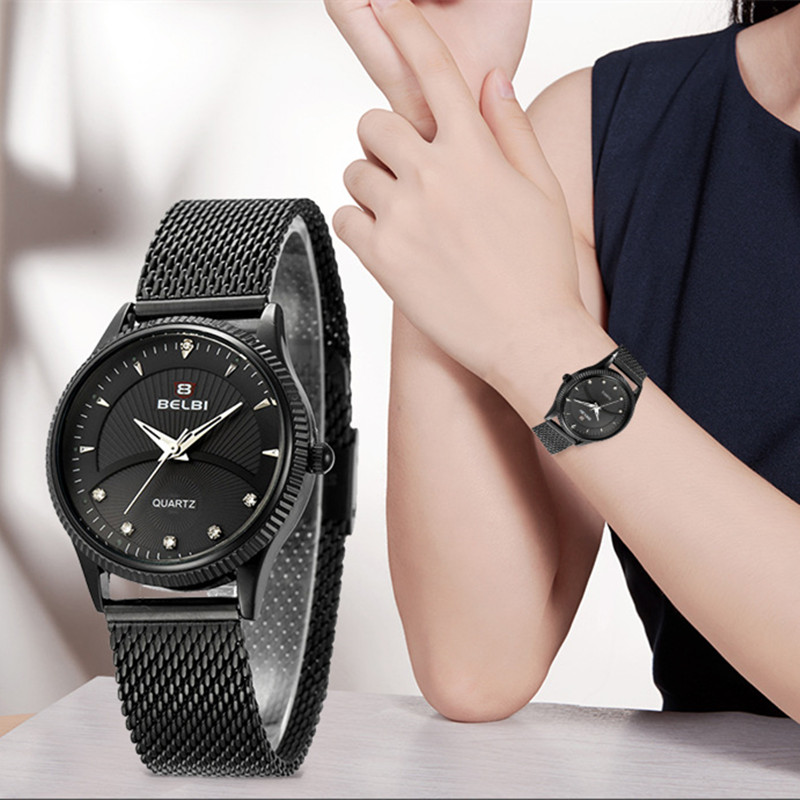 BELBI watch women fashion luxury watch Reloj Mujer Stainless Steel Quality Diamond Ladies Quartz Watch Women Rhinestone Watches fashion luxury guou watch women watch reloj mujer stainless steel quality diamond ladies quartz watch women rhinestone watches