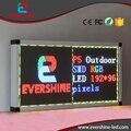 Светодиодная панель для p4 открытый полноцветный СВЕТОДИОДНЫЙ рекламный дисплей Размер 256x192 пикселей Светодиодная панель