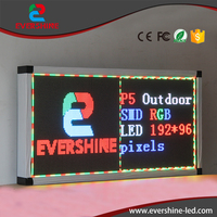 Comprar Panel led para p4 a todo color al aire libre Pantalla de publicidad led tamaño 256x192 píxeles panel led