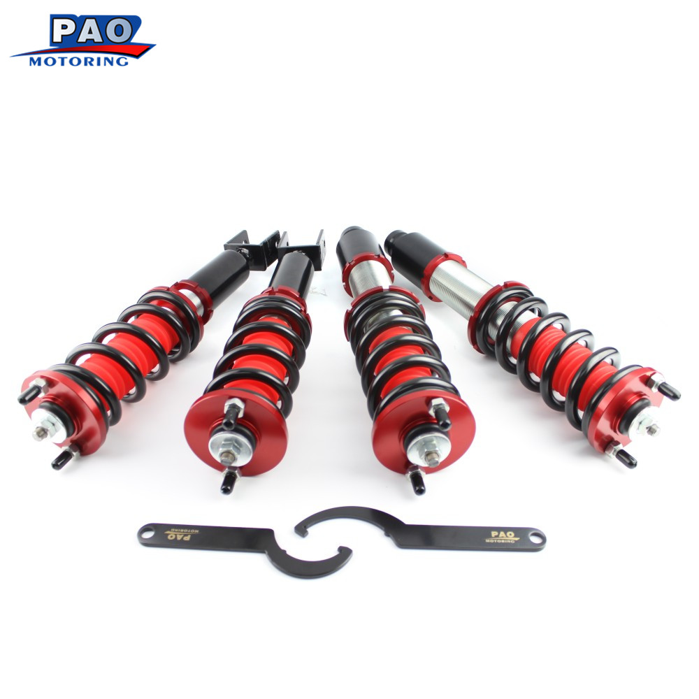 PAO MOTORING Coilover Spring Strut Absorber For Acura