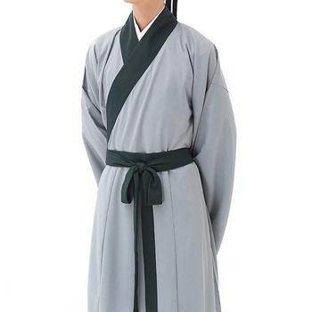 Tradycyjna chińska odzież dla mężczyzn mężczyzna płaszcz odzież wierzchnia orientalne zimowy płaszcz trencz mężczyźni trenchcoat ubrania 2018 TA337 tanie i dobre opinie SILKQUEEN Linen CN (pochodzenie) Szata suknia Suknem