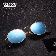 20/20 marka klasyczne okulary polaryzacyjne mężczyźni kobiety marka projektant Vintage owalne jazdy okulary przeciwsłoneczne Unisex
