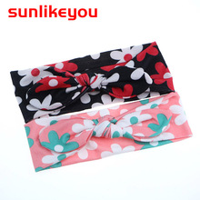 Sunlikeyou Baby Girls Hairbands Toddler Baby Bowknot Headwear Kids Newborn Turban Bows Knot Headband Hair Accessories sunlikeyou baby headband butterfly girls embroidery hair bands for girls kids headbands turban newborn baby hair accessories