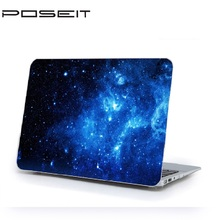 Laptop Starry Painted Hard Case + Rubberized Keyboard Cover For Macbook Pro 13 15 Air 11 12