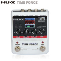 NUX TIME FORCE Guitar Pedal Multi Digital Delay 11 Delay Effects Guitarra Electric Guitar Capo Tuner