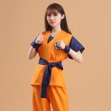 Siete dragon ball cosplay dress ropa senru wukong tortuga gohan servicio cos ropa del funcionamiento de la tortuga wordjapanese anime
