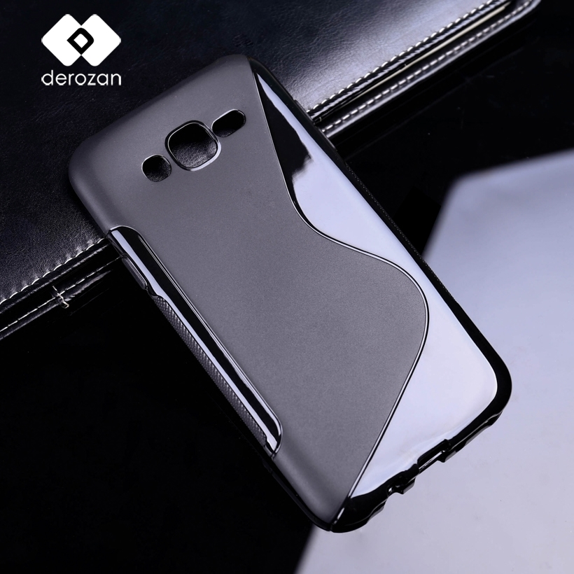DEROZAN Silicone Cases For <font><b>Samsung</b></font> J7 2015 Case Flexible Protective Hood Rubber Phone Covers For <font><b>Samsung</b></font> J7 Nxt J7 Neo J700 Bag image