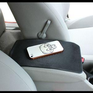 Image 2 - 1PC שחור אוטומטי רכב אנטי סליפ לוח מחוונים דביק שטיח Pad ללא מחזיק טלפונים סלולריים GPS רכב פנים כלי אוטומטי חלק