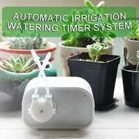 Garden Watering Timer Ball Valve Automatic Electronic Water Timer Home Garden Irrigation Timer Controller System ABS DC 12V