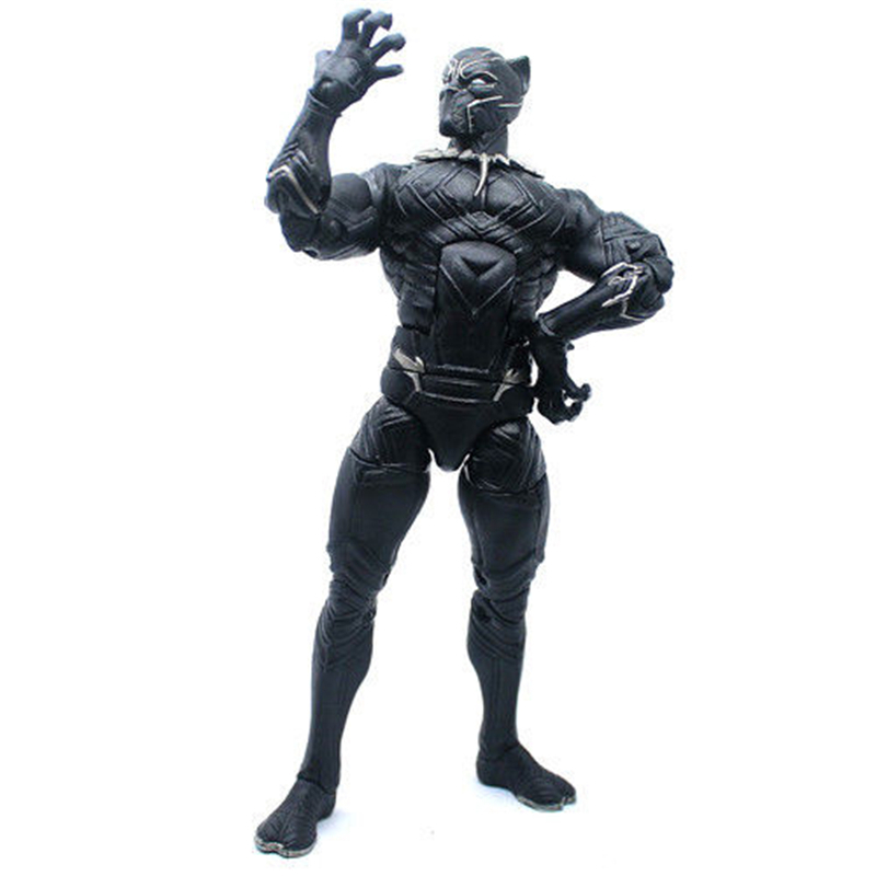 15cm Black Panther Action Figure Wakanda T'Challa The Avengers Captain America: Civil War Movies Figures Gift for Kids image