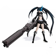 Figma SP012 Black Rock Shooter PVC Action Figure Toys SP-012 Collectible Model Doll Toy 15cm With Box Great Gift a156