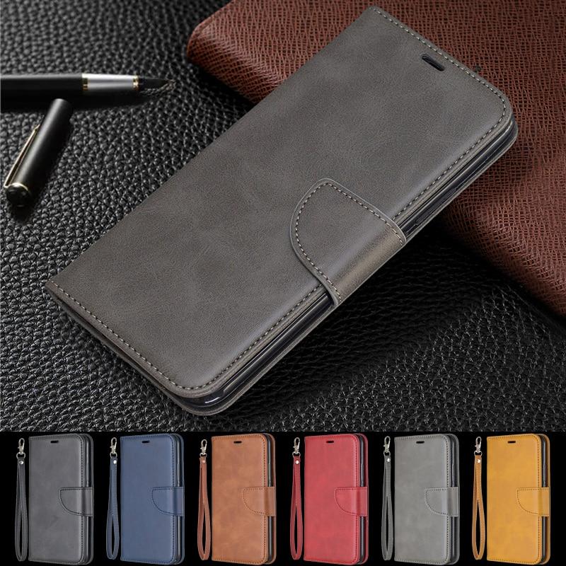 Skórzane etui z klapką do Samsung Galaxy A10s etui na telefon portfel na Samsung A 10s A107 A30s A20s A50s A 30s książka magnetyczne etui