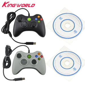 PC ONLY USB Wired Game Controller Joystick Vibration for PC for Windows7 Gamepad NOT compatible for xbox 360