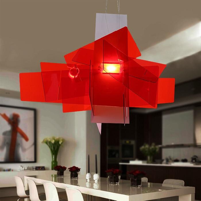 Foscarini Modern Big Bang Pendant Lights White Acrylic Lamps Dining Room Creative Lampadario Moderno E27 LED Luminarias Lighting