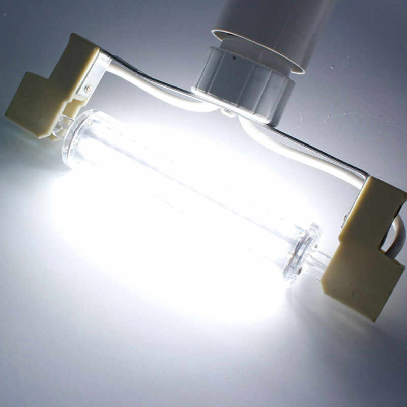 Супер яркие r7s 30 Вт 78 мм 6000лм светодиодные лампочки j118 R7S cob 50 Вт 118 мм 10000лм лампы AC220-240V заменить галогенные лампы