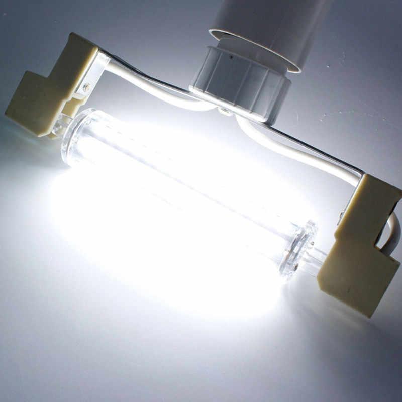 סופר מואר r7s 30W 78mm 6000lm led אור נורות j118 R7S led cob 50W 118mm 10000lm מנורת הנורה AC220-240V להחליף מנורת הלוגן