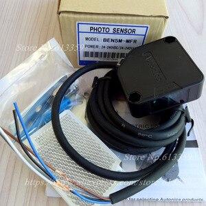 Image 4 - BEN5M MFR AC/DC Autonics Retroreflektif Fotoelektrik değiştirme sensörü Algılama 5 Metre Röle Çıkışı % 100% Yeni Yüksek Kaliteli