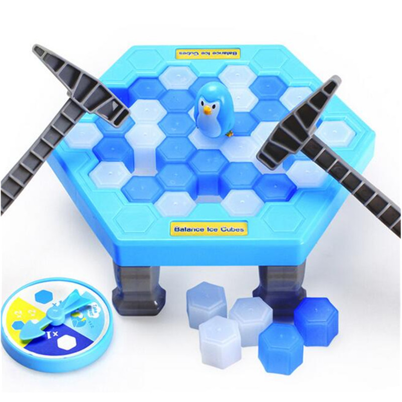 Capable Mini Penguin Trap Activate Funny Game Interactive Ice Breaking Table Penguin Trap Entertainment Toy For Kids Family Fun Game Games Toys & Hobbies