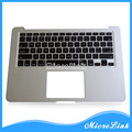 "Nuevo para Macbook Air 13.3 "" A1466 topcase 2012 Top caso reposamanos con teclado ee.uu ."