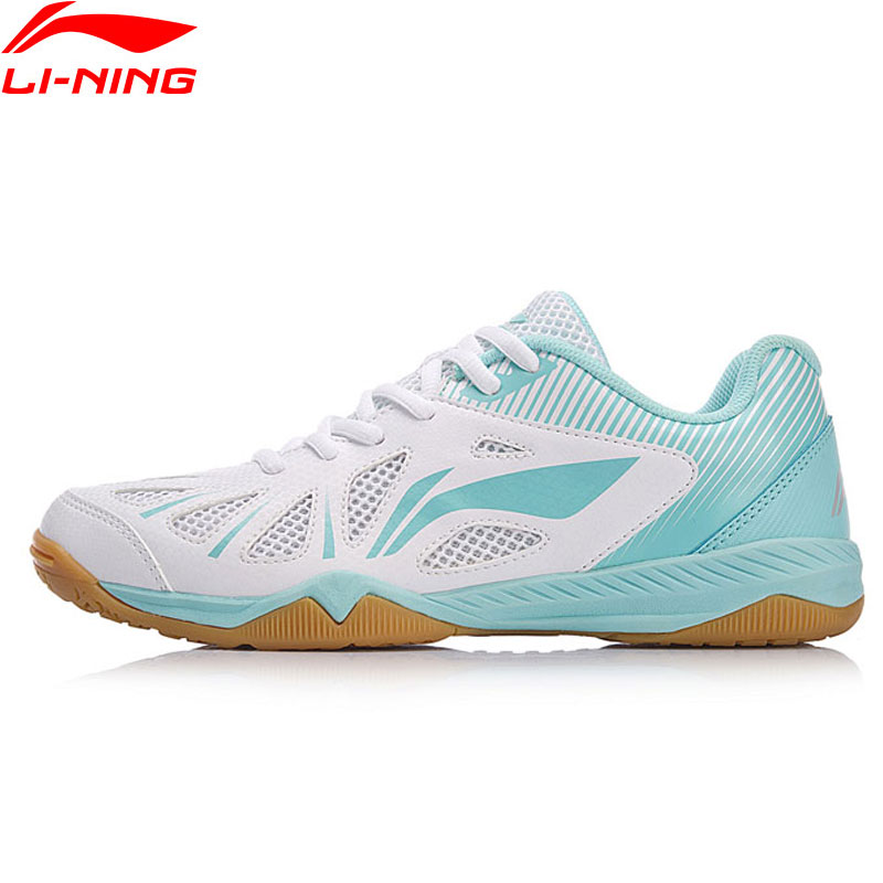 Li-Ning Women WHIRLWIND Table Tennis Shoes National Team Sponsor Sneakers Wearable LiNing Comfort Sports Shoes APTM004 YXT021
