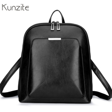 Vintage Women Backpack School Bags for Teenage Girls Shoulder Bag Female  Oil Wax Leather Backpacks Mochilas eb7439ad06