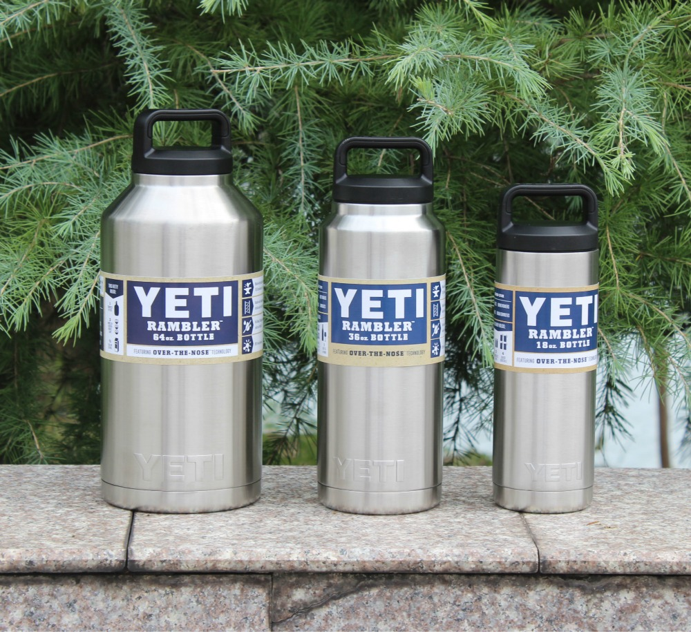 Hot Sale <font><b>Yeti</b></font> <font><b>Rambler</b></font> Bottle 18oz 36oz 64oz <font><b>Rambler</b></font> <font><b>Colster</b></font> <font><b>Insulated</b></font> Stainless Steel <font><b>Cup</b></font> <font><b>Mug</b></font> Drink Holder <font><b>Insulated</b></font> Free ship