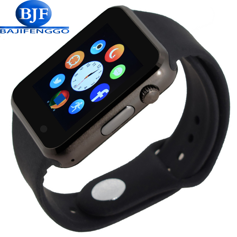 Bluetooth Smart Watch Support SIM SD Card Electronics Wrist Phone Watch For Android smartphone Blue green