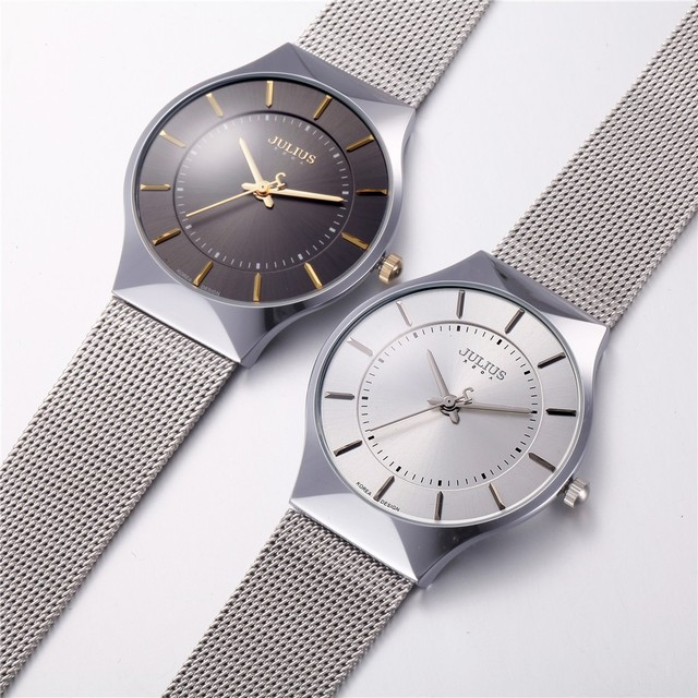 Ultra Thin Stainless Steel Sport Watch