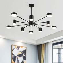 JAXLONG Nordic Style Living Room Pendant Lamp Restaurant Decor Lights Modern Home Lighting Light Kitchen lustre Fixtures