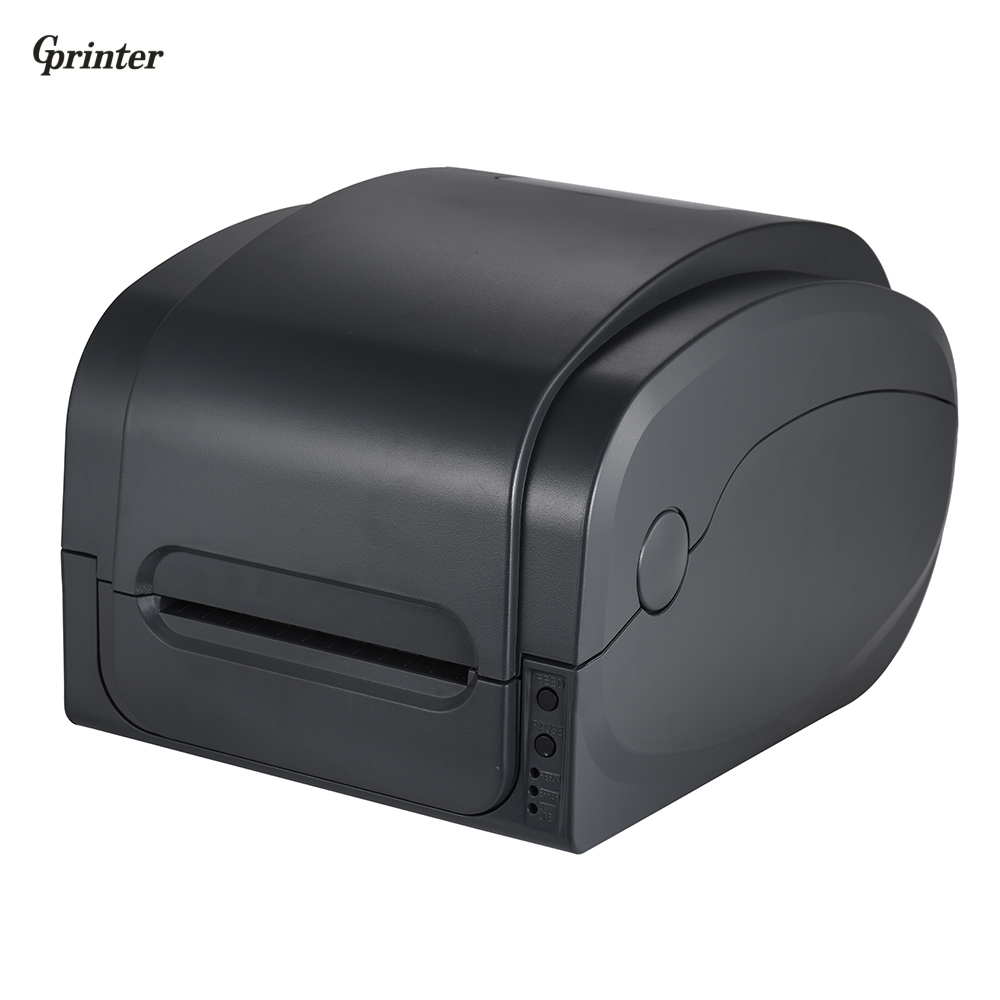 Gprinter Thermal Transfer Receipt Printer Barcode Label Printer 300dpi High Resolution 104mm Print Width for Warehouse Retail zootopia 45189 22 p1006066 printer main drive belt for zebra 110xi4 105sl 300dpi barcode label printer