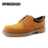 Real Leather Genuine Yellow China Elevator Casual High Heel Large Size Hidden Height Increasing Shoes Men Brown Tan Lace Up Work
