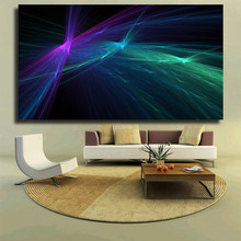Abstract fractal ballet dance paint paint Wall painting print on canvas for home decor oil painting arts No framed wall pictures(China)