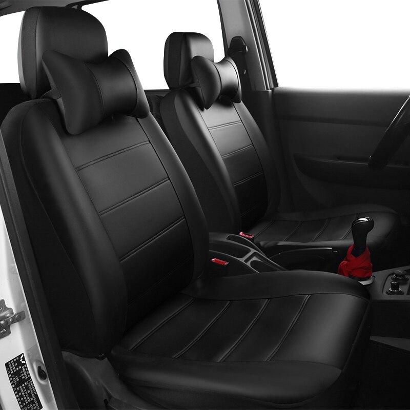 Yuzhe PU Leather Auto Universal Fundas de asiento de coche Cubiertas - Accesorios de interior de coche - foto 2