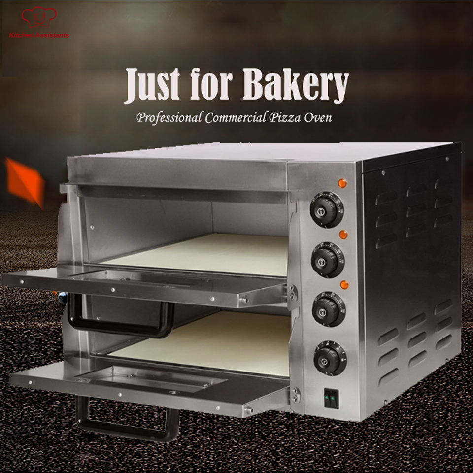 EP2ST Hot sale Electric Pizza Bakery Oven with timer for commercial use for making bread, cake, pizza