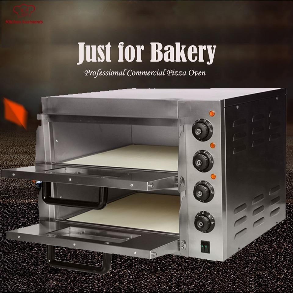 EP2ST vendita Calda Elettrico Per Pizza Da Forno Forno con timer per uso commerciale per fare il pane, torta, pizza