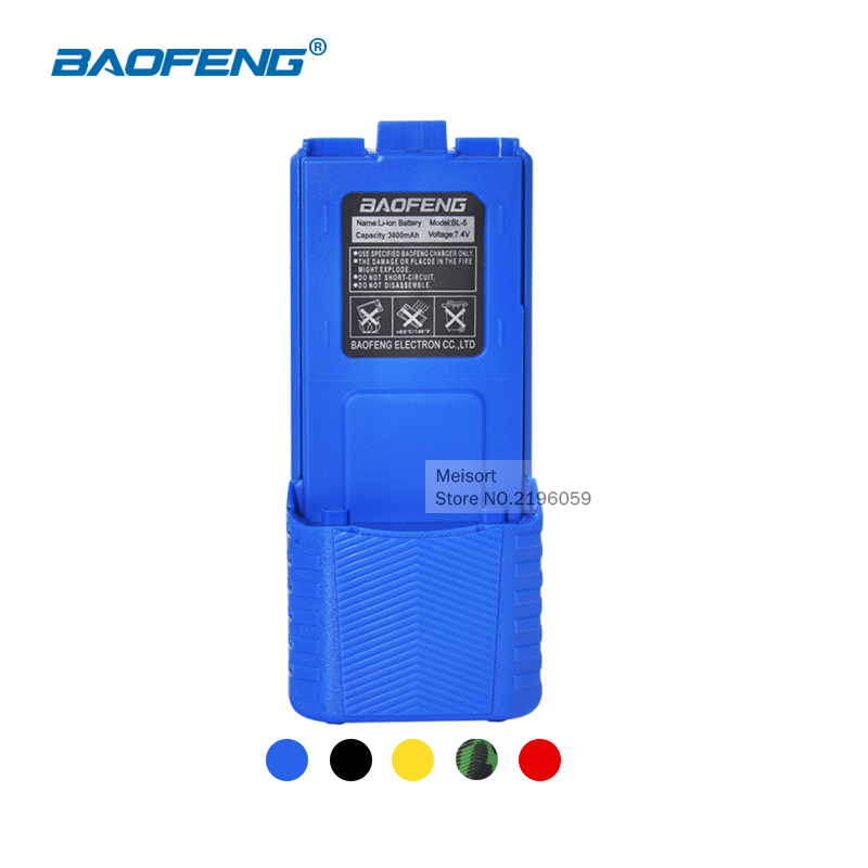 Rechargerble Battery 7 4V 3800mAh Baofeng uv 5r Battery For Two Way Radio CB Walkie Talkie