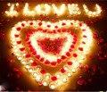 Honey Qiao 1000 шт./лот Шелковые Лепестки Розового Цветка Листья Свадебные Настольные Украшения Оптовая Розовый цвет Для Свадебных Аксессуаров