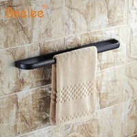 Beelee BA7401B 57 5cm Towel Rack Bathroom Accessories Wall Mounted 22 Inch Single Double Towel Bars
